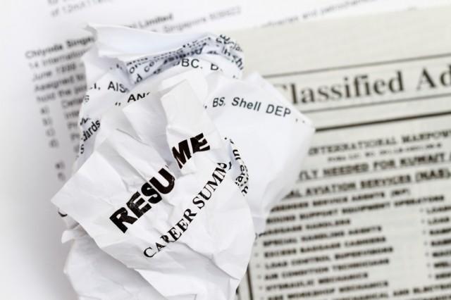 resume in career development