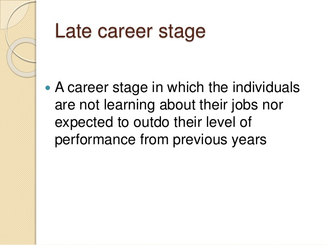 career stages Agework@bcedu 1 state issue brief 03 attitudes toward workers july 2009 attitudes toward workers of different career stages elyssa besen & tay mcnamara, phd.